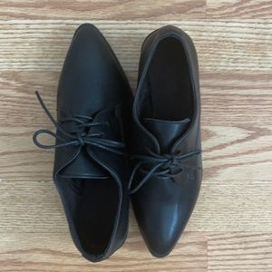 H&M pointed Black Loafers